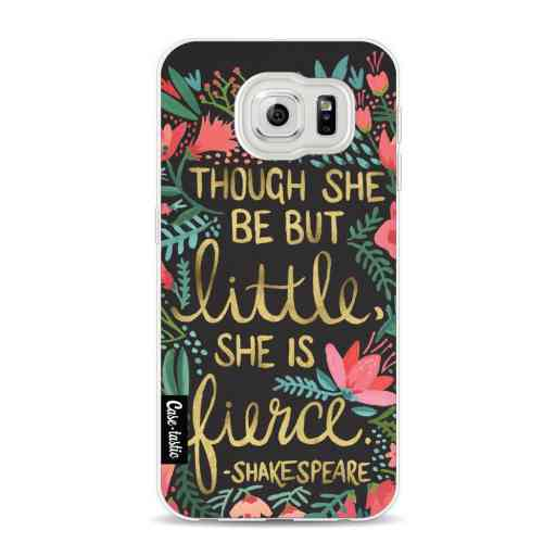 Casetastic Softcover Samsung Galaxy S6 - Little Fierce Charcoal
