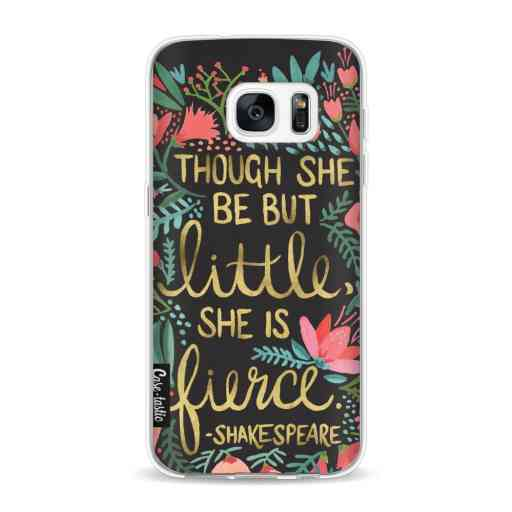 Casetastic Softcover Samsung Galaxy S7 - Little Fierce Charcoal
