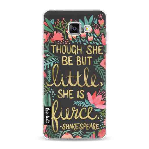 Casetastic Softcover Samsung Galaxy A5 (2016) - Little Fierce Charcoal