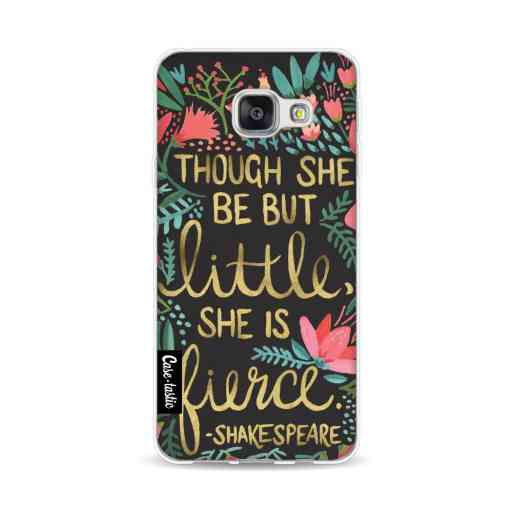 Casetastic Softcover Samsung Galaxy A3 (2016) - Little Fierce Charcoal