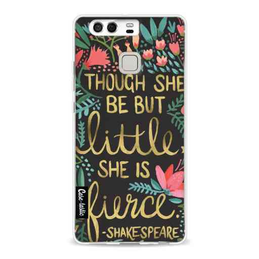 Casetastic Softcover Huawei P9  - Little Fierce Charcoal