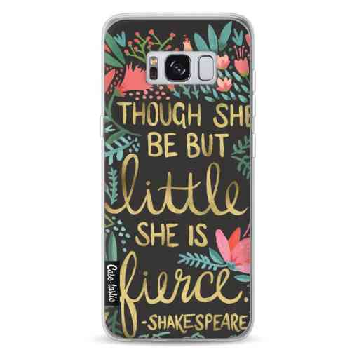 Casetastic Softcover Samsung Galaxy S8 - Little Fierce Charcoal
