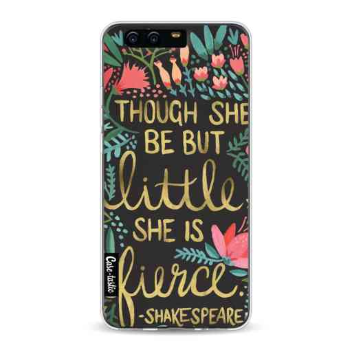 Casetastic Softcover Huawei P10 - Little Fierce Charcoal