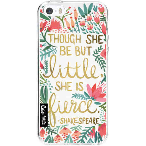 Casetastic Softcover Apple iPhone 5 / 5s / SE - Little Fierce White