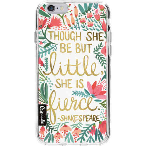 Casetastic Softcover Apple iPhone 6 / 6s - Little Fierce White