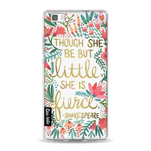 Casetastic Softcover Huawei P8 Lite (2015) - Little Fierce White