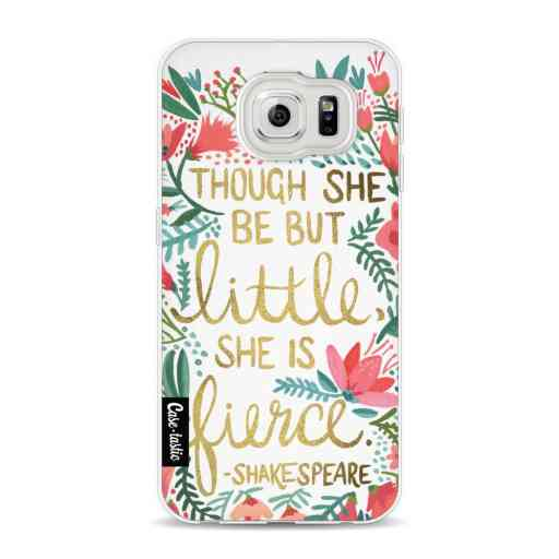Casetastic Softcover Samsung Galaxy S6 - Little Fierce White
