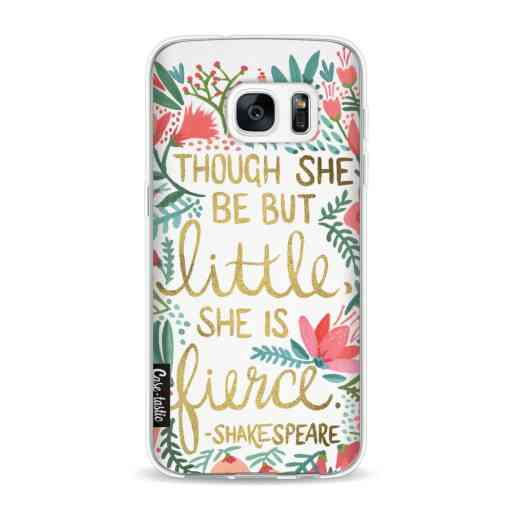 Casetastic Softcover Samsung Galaxy S7 - Little Fierce White
