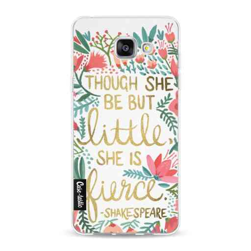 Casetastic Softcover Samsung Galaxy A5 (2016) - Little Fierce White