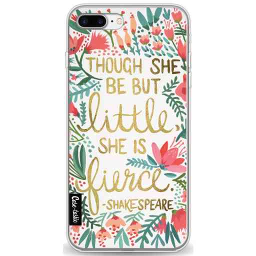 Casetastic Softcover Apple iPhone 7 Plus / 8 Plus - Little Fierce White