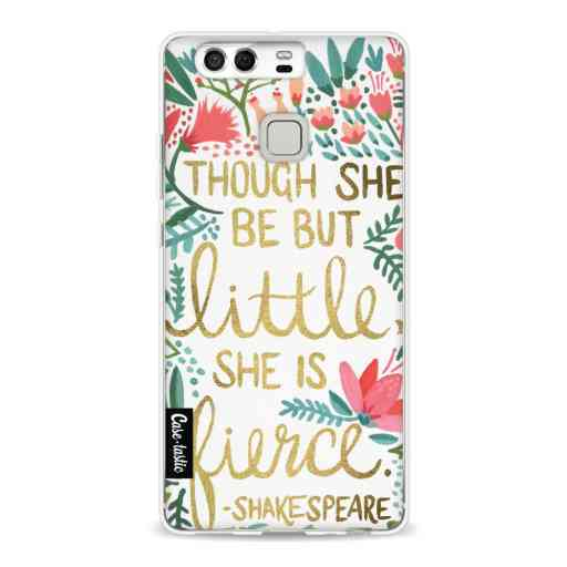 Casetastic Softcover Huawei P9  - Little Fierce White