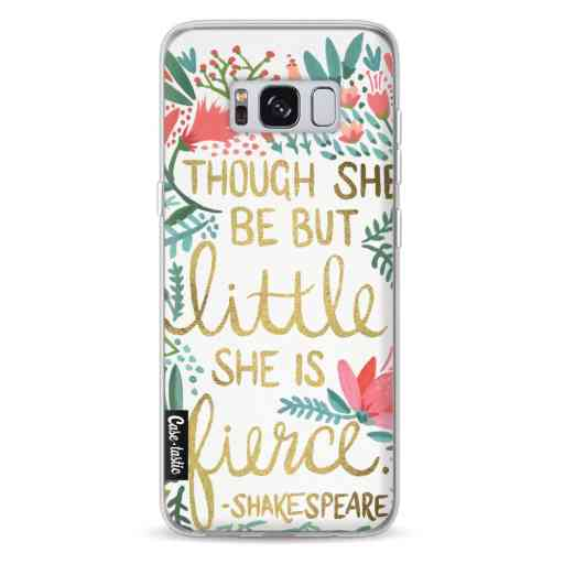 Casetastic Softcover Samsung Galaxy S8 - Little Fierce White