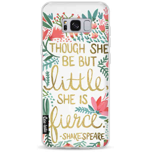 Casetastic Softcover Samsung Galaxy S8 Plus - Little Fierce White