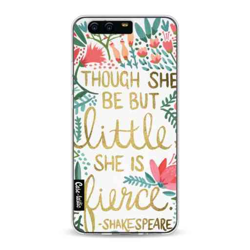 Casetastic Softcover Huawei P10 - Little Fierce White