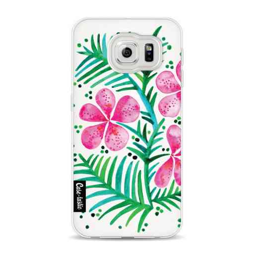Casetastic Softcover Samsung Galaxy S6 - Magenta Orchid Bunch