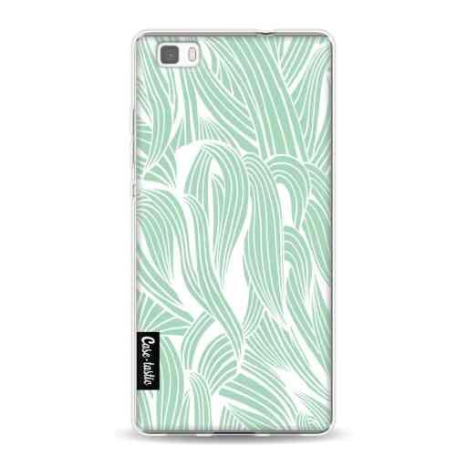 Casetastic Softcover Huawei P8 Lite (2015) - Seam Foam Organic Print