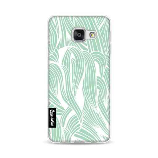 Casetastic Softcover Samsung Galaxy A3 (2016) - Seam Foam Organic Print
