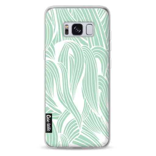 Casetastic Softcover Samsung Galaxy S8 - Seam Foam Organic Print