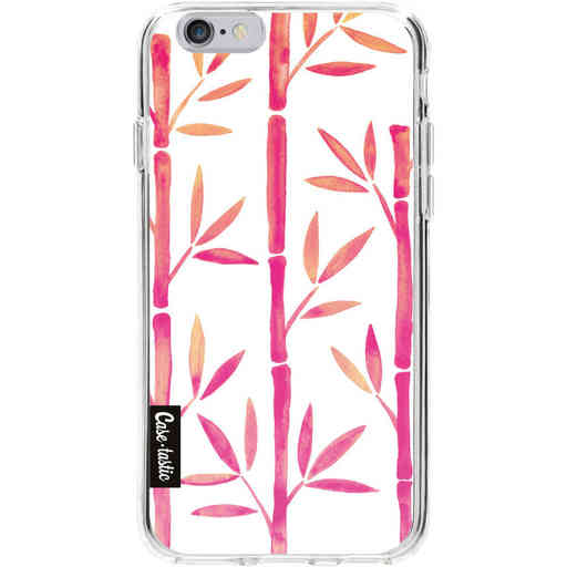 Casetastic Softcover Apple iPhone 6 / 6s - Pink Bamboo Pattern