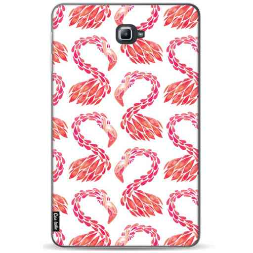 Casetastic Softcover Samsung Galaxy Tab A 10.1 (2016) - Pink Flamingo Pattern