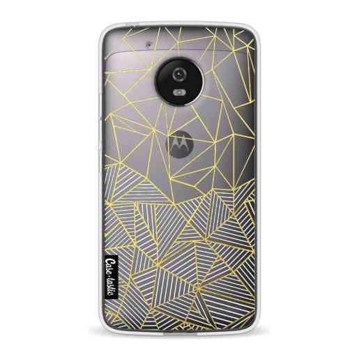 Casetastic Softcover Motorola Moto G5 - Abstraction Half Half Transparent