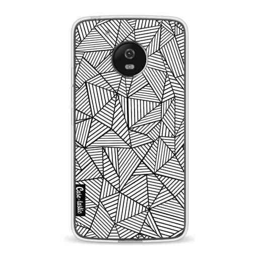 Casetastic Softcover Motorola Moto G5 - Abstraction Lines