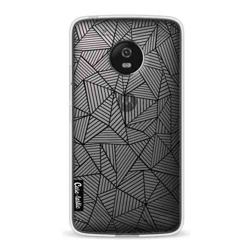 Casetastic Softcover Motorola Moto G5 - Abstraction Lines Transparent