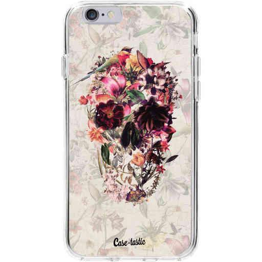 Casetastic Softcover Apple iPhone 6 / 6s - Flower Skull