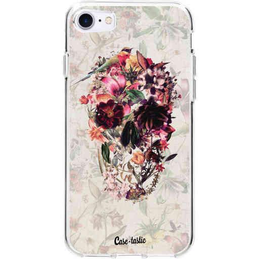 Casetastic Softcover Apple iPhone 7 / 8 / SE (2020) - Flower Skull
