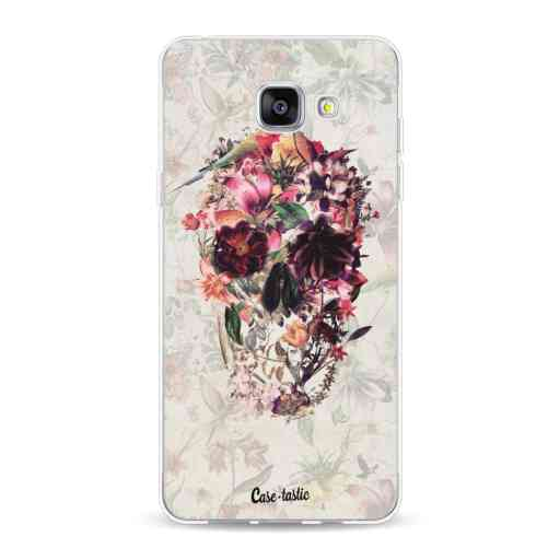 Casetastic Softcover Samsung Galaxy A5 (2016) - Flower Skull