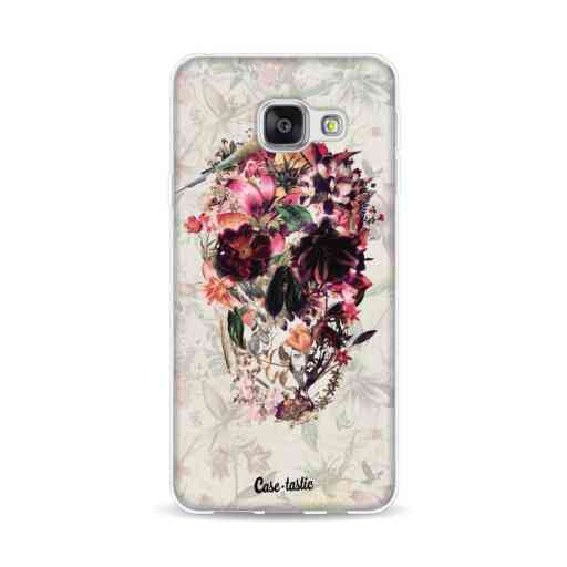 Casetastic Softcover Samsung Galaxy A3 (2016) - Flower Skull
