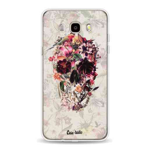 Casetastic Softcover Samsung Galaxy J5 (2016) - Flower Skull