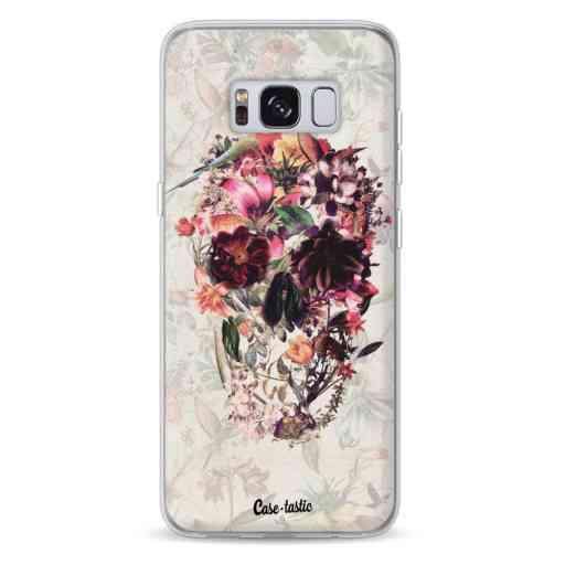 Casetastic Softcover Samsung Galaxy S8 - Flower Skull