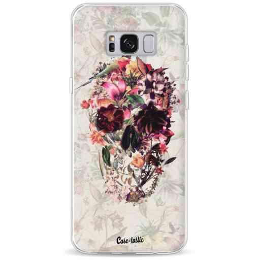 Casetastic Softcover Samsung Galaxy S8 Plus - Flower Skull