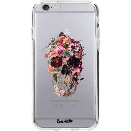 Casetastic Softcover Apple iPhone 6 / 6s - Transparent Skull