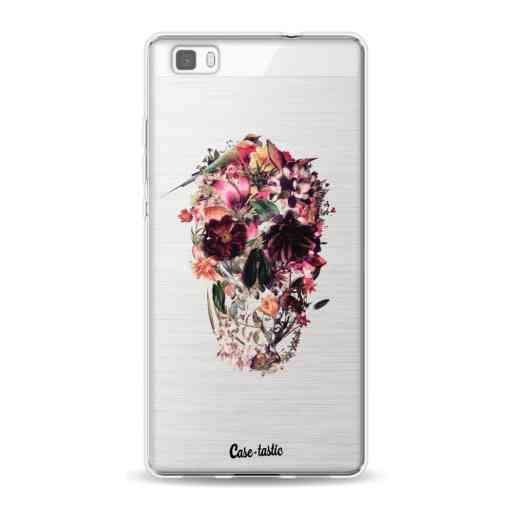 Casetastic Softcover Huawei P8 Lite (2015) - Transparent Skull