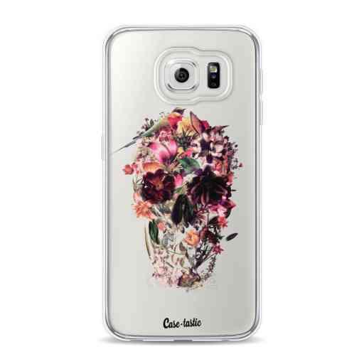 Casetastic Softcover Samsung Galaxy S6 - Transparent Skull