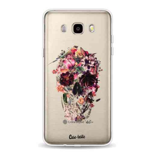 Casetastic Softcover Samsung Galaxy J5 (2016) - Transparent Skull