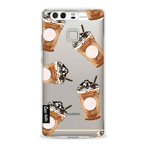 Casetastic Softcover Huawei P9  - Coffee To Go