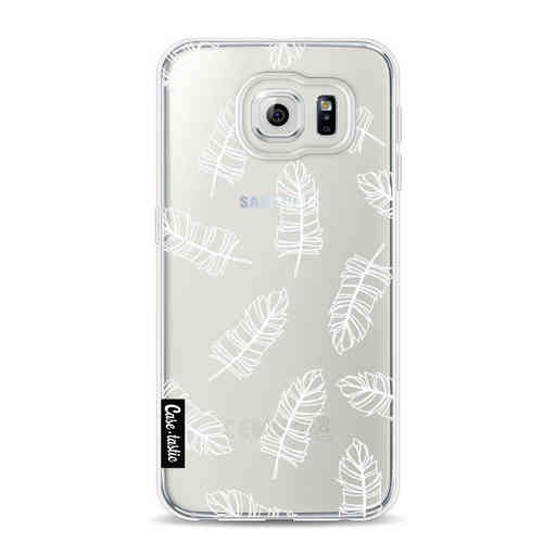 Casetastic Softcover Samsung Galaxy S6 - Feathers Outline