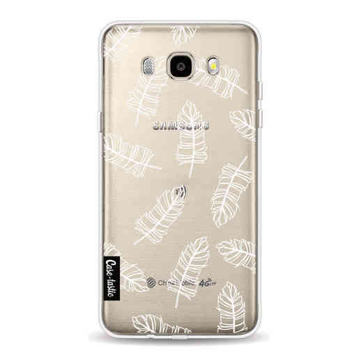 Casetastic Softcover Samsung Galaxy J5 (2016) - Feathers Outline