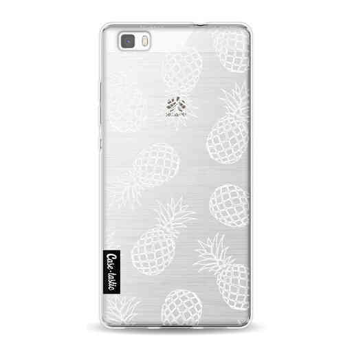 Casetastic Softcover Huawei P8 Lite (2015) - Pineapples Outline