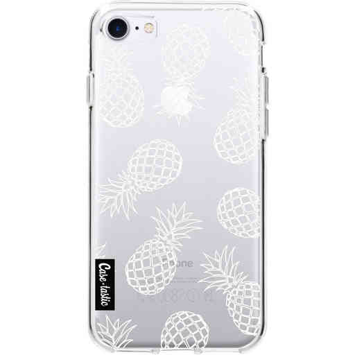 Casetastic Softcover Apple iPhone 7 / 8 / SE (2020) - Pineapples Outline