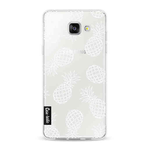 Casetastic Softcover Samsung Galaxy A5 (2016) - Pineapples Outline