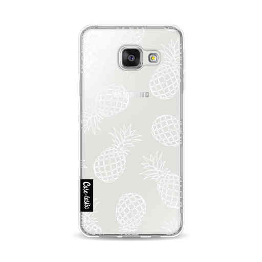 Casetastic Softcover Samsung Galaxy A3 (2016) - Pineapples Outline