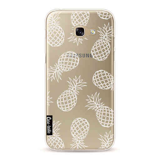 Casetastic Softcover Samsung Galaxy A5 (2017) - Pineapples Outline