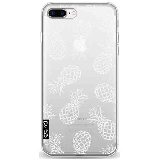 Casetastic Softcover Apple iPhone 7 Plus / 8 Plus - Pineapples Outline