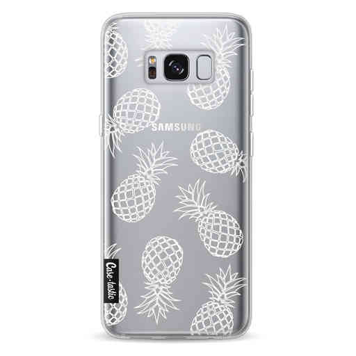 Casetastic Softcover Samsung Galaxy S8 - Pineapples Outline