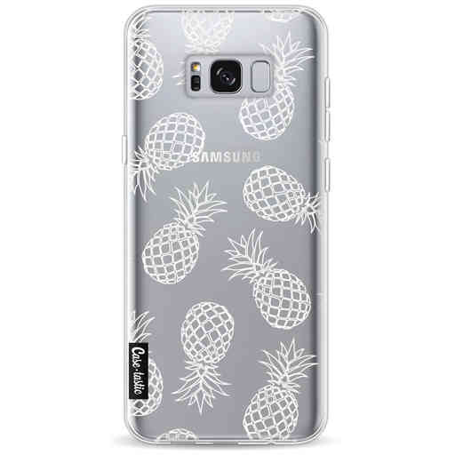 Casetastic Softcover Samsung Galaxy S8 Plus - Pineapples Outline