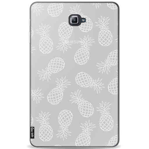 Casetastic Softcover Samsung Galaxy Tab A 10.1 (2016) - Pineapples Outline
